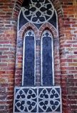 Część urząd miasta ściana w Toruńskim, Polska zdjęcia stock