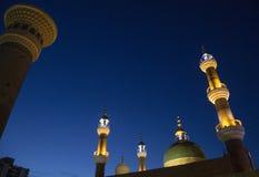 Część wielki bazaaa meczet w Xinjiang 02 Obraz Royalty Free