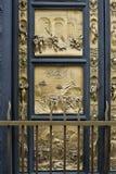 Część Wschodni drzwi Florencja Baptistery Fotografia Royalty Free