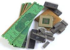części elektroniczne Fotografia Stock
