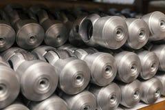 Części lany aluminium Fotografia Royalty Free