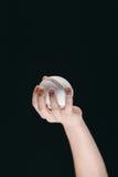 Częściowy widok dzieciaka mienia baseballa piłka Zdjęcia Stock