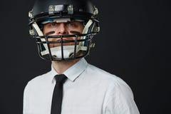 Częstowanie biznes lubi futbol obraz royalty free
