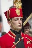Członek gwardia honorowa batalion, Chorwacja obraz royalty free