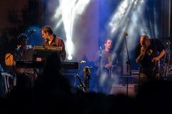 Członkowie zespół Hadag Nahash wykonują Zdjęcie Royalty Free