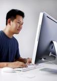 człowiek działanie biura Zdjęcie Stock