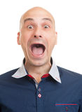 człowiek krzyczeć Zdjęcie Royalty Free