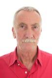 człowiek na emeryturę Fotografia Royalty Free