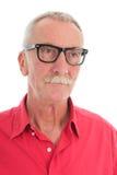 człowiek na emeryturę Zdjęcia Royalty Free