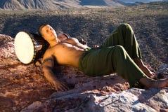 człowiek sexy odpocząć Fotografia Royalty Free