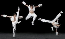 człowiek tańczący ekspresyjny Obraz Royalty Free