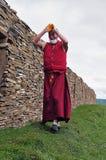 człowiek tybetańskiej Zdjęcie Royalty Free