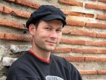 człowiek uśmiechnięci young Zdjęcia Stock
