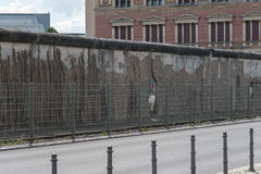 Część Berlińska ściana Fotografia Stock