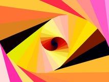 Członowa spirala Obraz Royalty Free