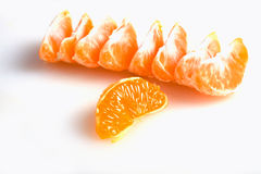 członuje tangerine Zdjęcie Royalty Free