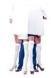 człowiek dwie kobiety Obraz Stock