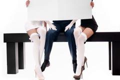 człowiek dwie kobiety Zdjęcie Stock