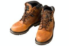 człowiek jest buty Fotografia Stock
