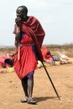 człowiek masajów Fotografia Stock