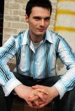 człowiek miejskie Zdjęcia Stock