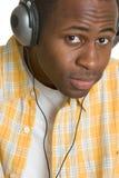 człowiek muzyki Zdjęcie Royalty Free