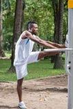 człowiek sportu Zdjęcie Stock