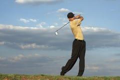 człowiek w golfa Zdjęcia Stock