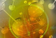 cząsteczki Obrazy Stock