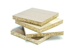 Cząsteczki deski drewno Zdjęcie Royalty Free