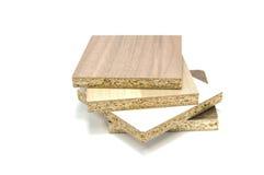 Cząsteczki deski drewno Obraz Royalty Free