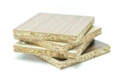 Cząsteczki deski drewno Zdjęcie Stock