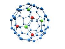 cząsteczki logotyp Zdjęcie Stock