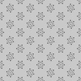 Cząsteczkowy bezszwowy wzór Obrazy Stock