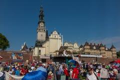 CZĘSTOCHOWSKI, POLSKA, Maj - 21, 2016: Czuwanie Katolicki Charyzmatyczny R Zdjęcia Stock