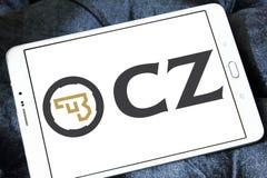 CZ-USA, CZ, broń palna wytwórcy logo Zdjęcie Royalty Free