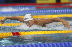 Czad Le Clos Coupe du monde pływanie àChartres Obraz Stock