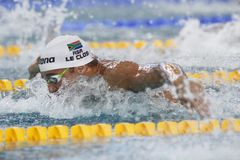 Czad Le Clos Coupe du monde pływanie àChartres Obraz Royalty Free
