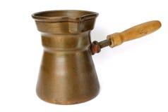 czajnika miedziany rocznik Zdjęcie Stock