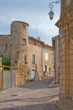 czapeczki du Gard st streetscape Zdjęcie Stock