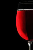 czara czerwone wino zdjęcia stock