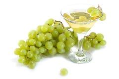 czara winogron wino Obraz Stock