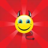 Czarci smiley ilustracji