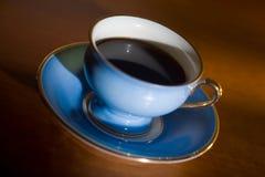 czarną kawę Zdjęcia Royalty Free