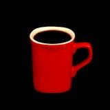 czarną kawę Obrazy Royalty Free