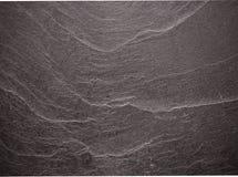 Czarna łupkowa tekstura lub tło Zdjęcia Stock