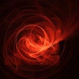 czarna abstrakcyjna czerwony projektu ilustracja wektor