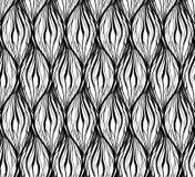 Czarna biała tekstura z falistego włosy liniami Pionowo łańcuchy i warkocze kolorowych deseniowych planowanymi różnych możliwych  ilustracji