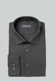 Czarna Biznesowa koszula Składająca Obrazy Royalty Free