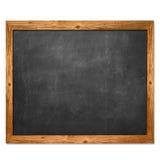 Czarna blackboard i koloru żółtego drewna koronka Obraz Royalty Free